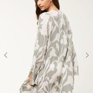 O'Neill Kimono NWT Guinevere FOG Sold Out M/L